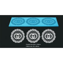 3D HD Cake Lace Mat For Cake Decoration - Gucci Cupcake and Cake Lace
