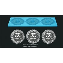 3D HD Cake Lace Mat For Cake Decoration - Chanel Cupcake and Cake Lace