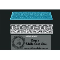 3D HD Cake Lace Mat For Cake Decoration - Ocean Fantasy Cake Lace
