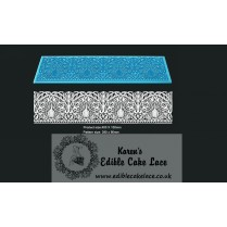 3D HD Cake Lace Mat For Cake Decoration - Peacock Cake Lace
