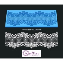 3D HD Cake Lace Mat For Cake Decoration - 3D Serenity Cake Lace