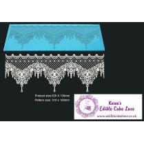 Cake Lace Starter Kit 33 ( Cake Lace Mix or Premix + Spreading Knife + Cake Lace Mats)