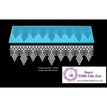 3D HD Cake Lace Mat For Cake Decoration - 3D Morning Pearls Cake Lace
