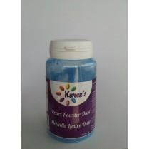 Blue Metallic Pearl Lustre Dust Petal Dust for Cake Decorating - 25 Grams