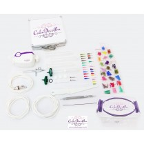 Cake Deco Pen Machine | Dual Action Kit | Deco Pen Kit + Air Brush Kit