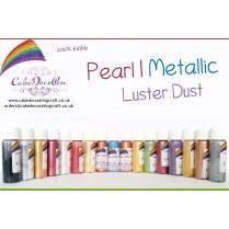 Silver  | Glitter | Shimmer | Luster | Dust |100 %Edible | Cake Craft | 4 Grams