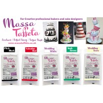 Wedding White | Massa Taffeta | Fondant | Sugarpaste | Ready Rolled Icing | Cake Craft