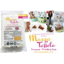 White | Massa Taffeta | Gumpaste | Modelling Paste | Flower Paste | Cake Craft
