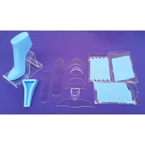 New Pack Of Fondant High Heel Shoe Kit for Cake Decoration and Cake Toppers