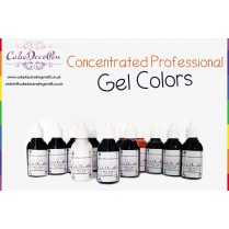 Sunset Orange | Gel Food Colors | Concentrated ProGel | Cake Decorating | 20 ML