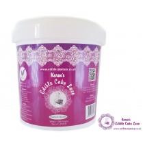 Edible Cake Lace Powder - 500 Grams - White