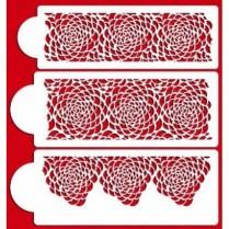 Camilla Rose Design - Stencil For Cake & CupCake