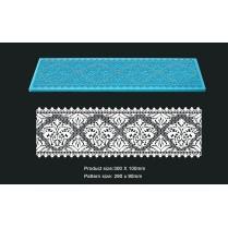 Cake Lace Mat For Cake Decoration - Damask Long