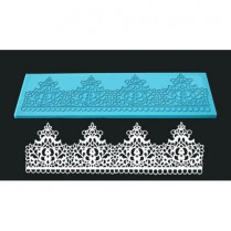 Single Lace Mat For Cake Decoration - Design 4